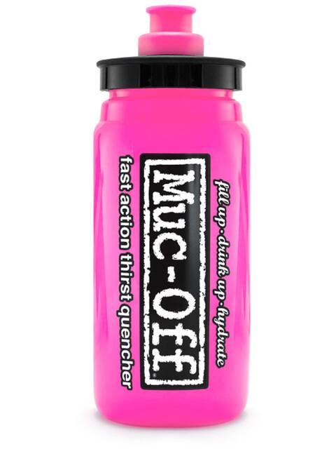 Muc-Off Elite Custom Fly Water Bottle 550ml pink